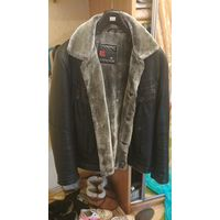 Куртка мужская на цигейке б.у