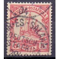 Германия Восточная Африка 5 песо 0Wz ГАШ 1901 г
