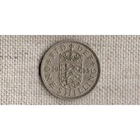 Великобритания 1 шиллинг 1955(Zo)