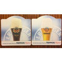 Подставка под пиво (бирдекель) Erdinger No 1
