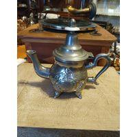 Лот с рубля - 182 Чайник Серебрение Клейма Без минимальной цены Большой Аукцион!
