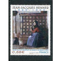 Франция. Жан Жак Эннер, французский художник, представитель академизма