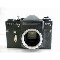 Фотоаппарат Зенит-ЕТ без объектива, рабочий, инструкция-паспорт