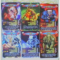 Карточка Человек-паук (Spider-Man), серия: Герои и злодеи. Marvel Comics.