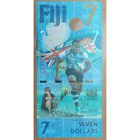 7 долларов 2017 года - Фиджи - UNC