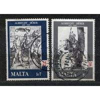 Живопись. Альбрехт Дюрер. Мальта. 1978. Серия 2 марки