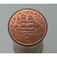 2 евроцента 2011 Греция