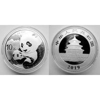 Панда, Китай, 2019, инвестиционная, 1 oz (в т.ч. и обмен)
