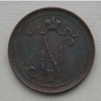 Русская Финляндия, 10 Пенни 1908 (19)