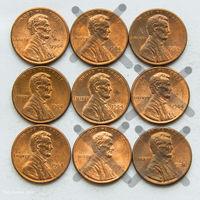 1 цент США 1984. Поштучно