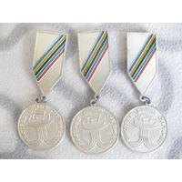 Медали  быстрее выше сильнее три , 2 место.