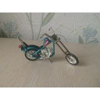 Мотоцикл Chopper Classic Blue (1:18)