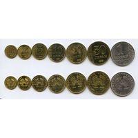 Таджикистан НАБОР 7 монет 2011 UNC