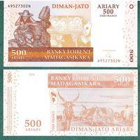 Мадагаскар  2500 франков 2004 год  Пресс