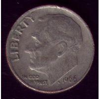 1 дайм 1966 год США