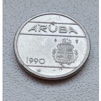 Аруба 5 центов, 1990 6-11-9