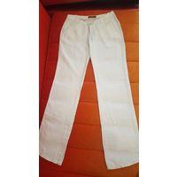 Белые льняные брюки DLF.СРОЧНО.ПЕРЕЕЗД