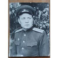 Фото офицера. Минск. 1953 г. 9х13 см.