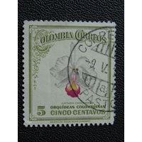 Колумбия 1947 г. Флора.
