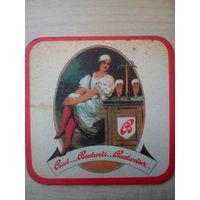Бирдекель (подставка под пиво) Budweiser/Чехия