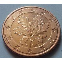 5 евроцентов, Германия 2002 F, AU