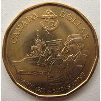Канада 1 доллар 2010 г. 100 лет королевскому флоту Канады