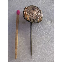 Знак. ЧССР. Стрельба по мишеням (тяжёлый, иголка)
