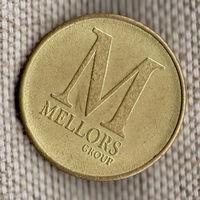 Жетон / Мellors group / Группа компаний мобильных аттракционов / Великобритания
