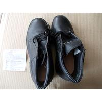 Ботинки Адамантан 43 р. Прочная натуральная кожа. Износостойкая подошва. Новые.