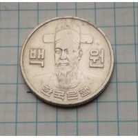 Южная Корея 100 вон 1975г.