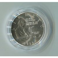1/2 доллара Мэдисон 1993г.