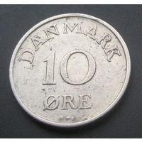 Дания 10 эре 1955г.