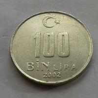 100000 лир, Турция 2002 г.