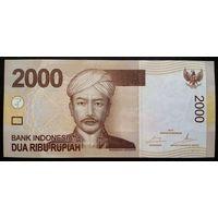 Индонезия 2000 рупий 2014 UNC