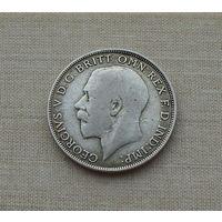 Великобритания, флорин (2 шиллинга) 1921 г., Георг V (1910-1936), серебро