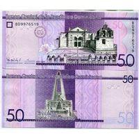 Доминиканская республика. 50 песо 2015 [UNC]