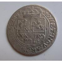 Тымф Краковский 1663 Ян II Казимир