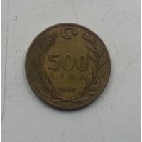 500 лир 1989 г. Турция
