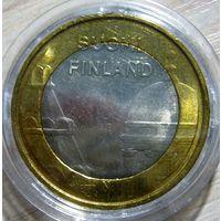 "5 евро 2012 г. Финляндия. ""Уусимаа, Соборы""."