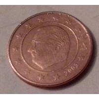 2 евроцента, Бельгия 2003 г.