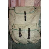 Рюкзак большого объема из плотного брезента