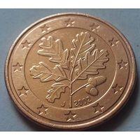 5 евроцентов, Германия 2002 J, AU