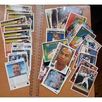Бейсбольные карточки, баскетбольные карточки одним лотом