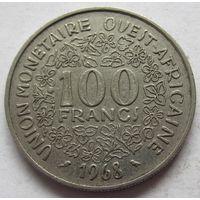 Западная Африка (BCEAO) 100 франков 1968