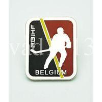 Официальный значок федерации хоккея Бельгии