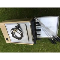 Электрошашлычница из 70-х в комплекте