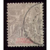 1 марка 1900 год Сенегал 23