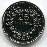 (A4) КОСТА РИКА - 25 СЕНТИМО 1980 UNC