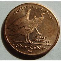 Резервация Лос Койотес 1 цент 2011 г