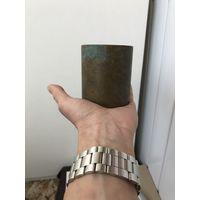 Старый стакан, емкость, карандашница Латунь/бронза